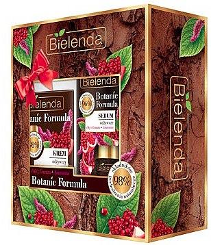 Gesichtspflegeset mit Granatapfelöl und Amaranthus - Bielenda Botanic Formula (Gesichtscreme 50ml + Gesichtsserum 15ml) — Bild N1