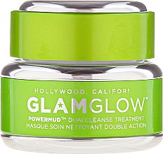 Düfte, Parfümerie und Kosmetik Feuchtigkeitsspendende Gesichtsreinigungsmaske - Glamglow Powermud Dualcleanse Treatment (Mini)