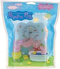 Düfte, Parfümerie und Kosmetik Kinder-Badeschwamm Peppa Pig Park blau - Suavipiel Peppa Pig Bath Sponge