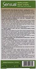 Enthaarungswachsstreifen für den Körper mit Aloeextrakt - Joanna Sensual Dipilatory Body Strips — Bild N2