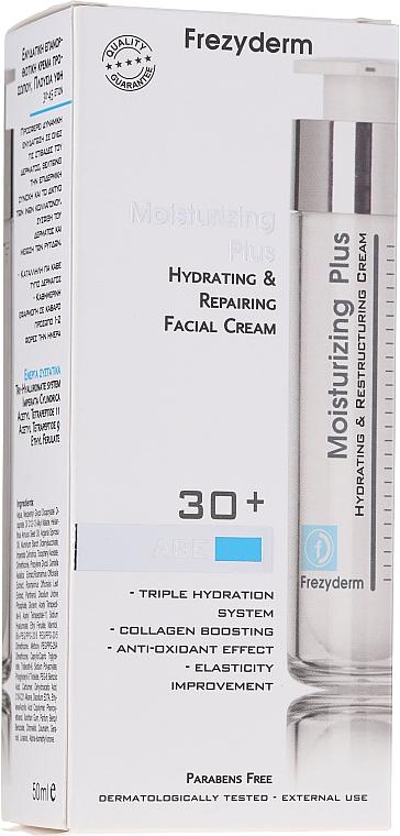 Feuchtigkeitsspendende und regenerierende Gesichtscreme - Frezyderm Moisturizing Plus Cream 30+ — Bild N1