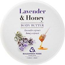 Düfte, Parfümerie und Kosmetik Körperbutter mit Lavendel- und Honigextrakt - Bulgarian Rose Lavender & Honey Body Butter