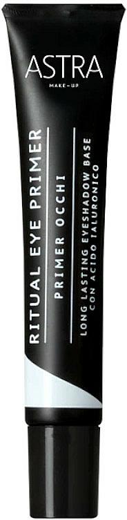 Langanhaltender Augenprimer mit Hyaluronsäure - Astra Make Up Ritual Eye Primer