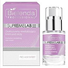 Düfte, Parfümerie und Kosmetik Intensiv revitalisierende Augenkonturcreme - Bielenda Professional SupremeLab Pro Age Expert
