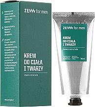 Düfte, Parfümerie und Kosmetik Pflegende Gesichts- und Körpercreme - Zew For Men Face And Body Cream