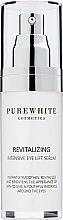 Düfte, Parfümerie und Kosmetik Intensiv revitalisierendes glättendes und aufhellendes Augenkonturserum mit Lifting-Effekt - Pure White Cosmetics Revitalizing Intensive Eye Lift Serum