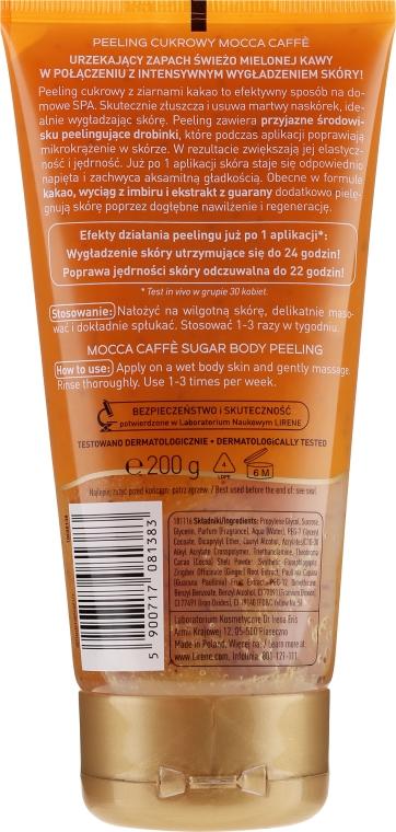 Zuckerpeeling für den Körper mit Mokka Kaffee - Lirene Dermo Program — Bild N2