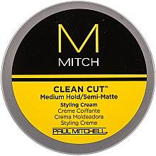 Düfte, Parfümerie und Kosmetik Styling-Creme mit Matteffekt Mittlerer Halt - Paul Mitchell Mitch Clean Cut Styling Cream
