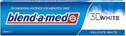 Düfte, Parfümerie und Kosmetik Zahnpasta 3D White Delicate White - Blend-a-med 3D White Delicate White