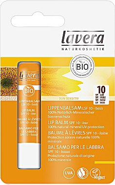 Lippenbalsam - Lavera Sun Lip Balm SPF 10 — Bild N1