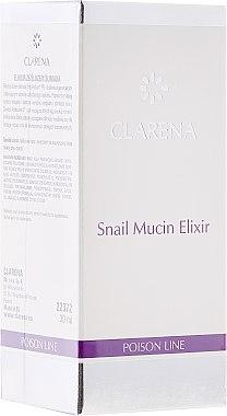 Regenerierendes Gesichtselixier mit Schneckenextrakt - Clarena Poison Line Snail Mucin Elixir — Bild N1