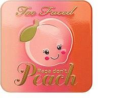 Düfte, Parfümerie und Kosmetik Rouge - Too Faced Papa Don't Peach Blush