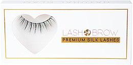 Düfte, Parfümerie und Kosmetik Künstliche Wimpern - Lash Brow Premium Silk Lashes Natural Glam