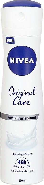 Deospray Antitranspirant - Nivea Women Orginal Care Spray — Bild N1