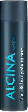 Düfte, Parfümerie und Kosmetik Shampoo für Körper und Haar - Alcina Herrenpflege For Men Hair & Body Shampoo