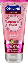 Düfte, Parfümerie und Kosmetik Glättendes Körperpeeling - On Line Senses Body Scrub Japanese Secret