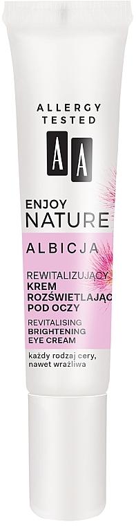 Revitalisierende und aufhellende Augencreme - AA Enjoy Nature Revitalising Brightening Eye Cream — Bild N2