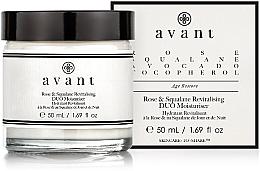 Düfte, Parfümerie und Kosmetik Revitalisierende und feuchtigkeitsspendende Gesichtscreme mit Rose und Squalan - Avant Rose & Squalane Revitalising DUO Moisturiser