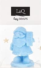 Handgemachte Naturseife Nikolaus mit Fruchtduft - LaQ Happy Soaps Natural Soap — Bild N1