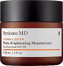 Düfte, Parfümerie und Kosmetik Feuchtigkeitsspendende und aufhellende Gesichtscreme mit Vitamin C SPF 30 - Perricone MD Vitamin C Ester Photo-Brightening Moisturizer Broad Spectrum SPF30
