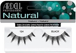 Düfte, Parfümerie und Kosmetik Künstliche Wimpern - Ardell Natural Lash 134 Black
