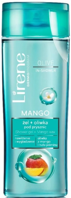 Duschgel mit Mangoextrakt - Lirene Oil Shower Gel With Mango