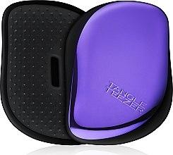 Düfte, Parfümerie und Kosmetik Kompakte Haarbürste - Tangle Teezer Compact Styler Purple Dazzle Brush