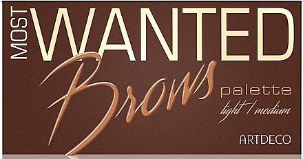 Make-up Set - Artdeco Most Wanted Brows Palette — Bild N1