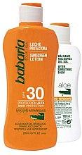 Düfte, Parfümerie und Kosmetik Körperpflegeset - Babaria Sun (Sonnenschutzmilch 200ml + Sonnenschutzlotion 100ml)