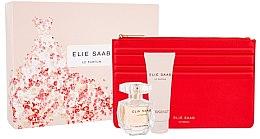 Düfte, Parfümerie und Kosmetik Elie Saab Le Parfum - Duftset (Eau de Parfum 50ml+Körperlotion 75ml+Kosmetiktasche)