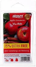 Düfte, Parfümerie und Kosmetik Duftwachs für Aromalampe Apple Cinnamon - Airpure Apple Cinnamon Wax Melts