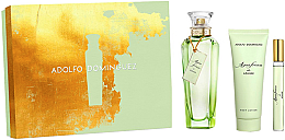 Düfte, Parfümerie und Kosmetik Adolfo Dominguez Agua Fresca de Azahar - Duftset (Eau de Toilette 120ml + Eau de Toilette 10ml + Körperlotion 75ml)