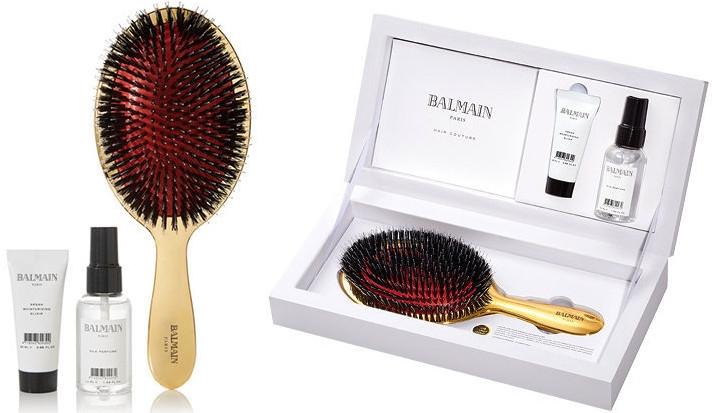Haarpflegeset - Balmain Paris Hair Couture Luxurious Golden Spa (Haarparfüm 50ml + Haarelixier 20ml + Haarbürste) — Bild N3