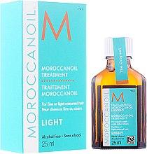 Düfte, Parfümerie und Kosmetik Regenerierendes Öl für dünnes und gebleichtes Haar - Moroccanoil Treatment For Fine And Light-Colored Hair
