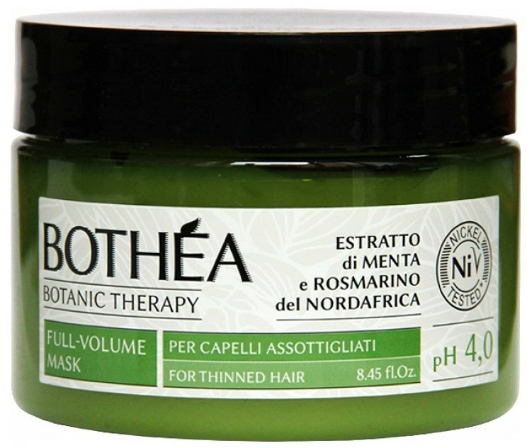 Haarmaske für dünnes Haar - Bothea Botanic Therapy Full-Volume Mask pH 4.0 — Bild N1