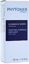 Düfte, Parfümerie und Kosmetik Gesichtspeeling mit Meereswirkstoffen - Phytomer Purifying Gommage Exfoliant Gentle scrub