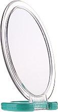Düfte, Parfümerie und Kosmetik Kosmetikspiegel mit Ständer 5176 transparent-grün - Top Choice