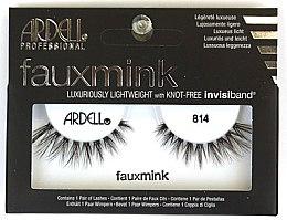 Düfte, Parfümerie und Kosmetik Künstliche Wimpern - Ardell Faux Mink Luxuriously Lightweight 814