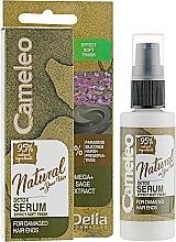 Düfte, Parfümerie und Kosmetik Haarserum - Delia Cameleo Natural On Your Hair Detox Serum