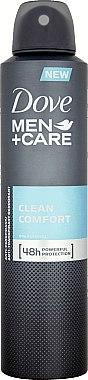 Deospray Antitranspirant - Dove Clean Comfort Men Anti-Perspirant Deodorant — Bild N2