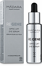 Düfte, Parfümerie und Kosmetik Straffendes Augenserum mit Kollagen, Elastin und Hyaluronsäure - Madara Cosmetics Re: Gene Optic Lift Eye Serum