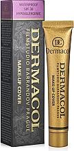 Düfte, Parfümerie und Kosmetik Stark deckende Foundation mit SPF 30 - Dermacol Make-Up Cover