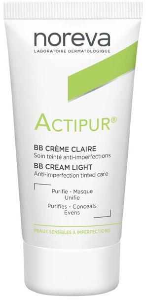 BB Creme mit Ceramiden und Vitamin PP gegen Hautunvollkommenheiten - Noreva Laboratoires Actipur Tinted BB Cream
