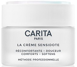 Düfte, Parfümerie und Kosmetik Beruhigende und pflegende Gesichtscreme für empfindliche Haut - Carita La Creme Sensidote