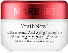Düfte, Parfümerie und Kosmetik Zellerneuernde Anti-Aging Nachtcreme für alle Hauttypen - Marbert YouthNow! Cell-Renewing Antiaging Night Care