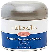 Aufbau Nagelgel ultra weiß - IBD Builder Gel Ultra White — Bild N4