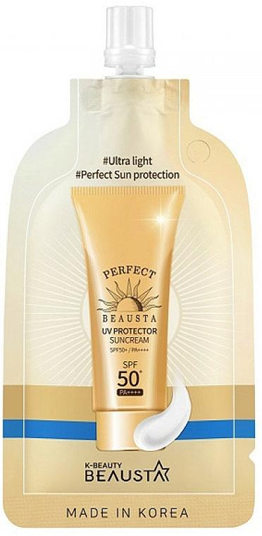 Ultra leichte Sonnenschutzcreme für das Gesicht SPF 50+ - Beausta UV Protector Sunscreen SPF50 — Bild N1