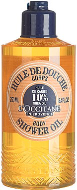 Duschöl mit Sheabutter - L'occitane Shea Oil Body Shower Oil — Bild N1
