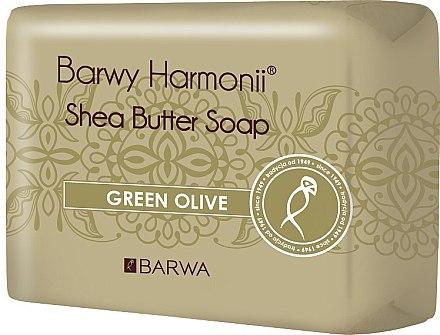 Sheabutter Seife mit Olivenöl - Barwa Harmony Green Olive Soap — Bild N1