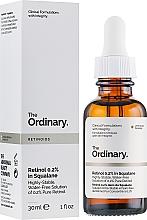 Düfte, Parfümerie und Kosmetik Anti-Aging Gesichtsserum mit 0.2% Retinol in Squalan - The Ordinary Retinoids Retinol 0.2% In Squalane